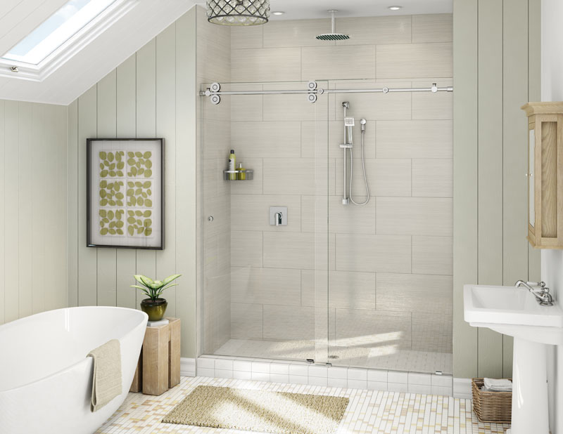 Maryland Glass and Mirror Company Custom Shower Enclosures ...