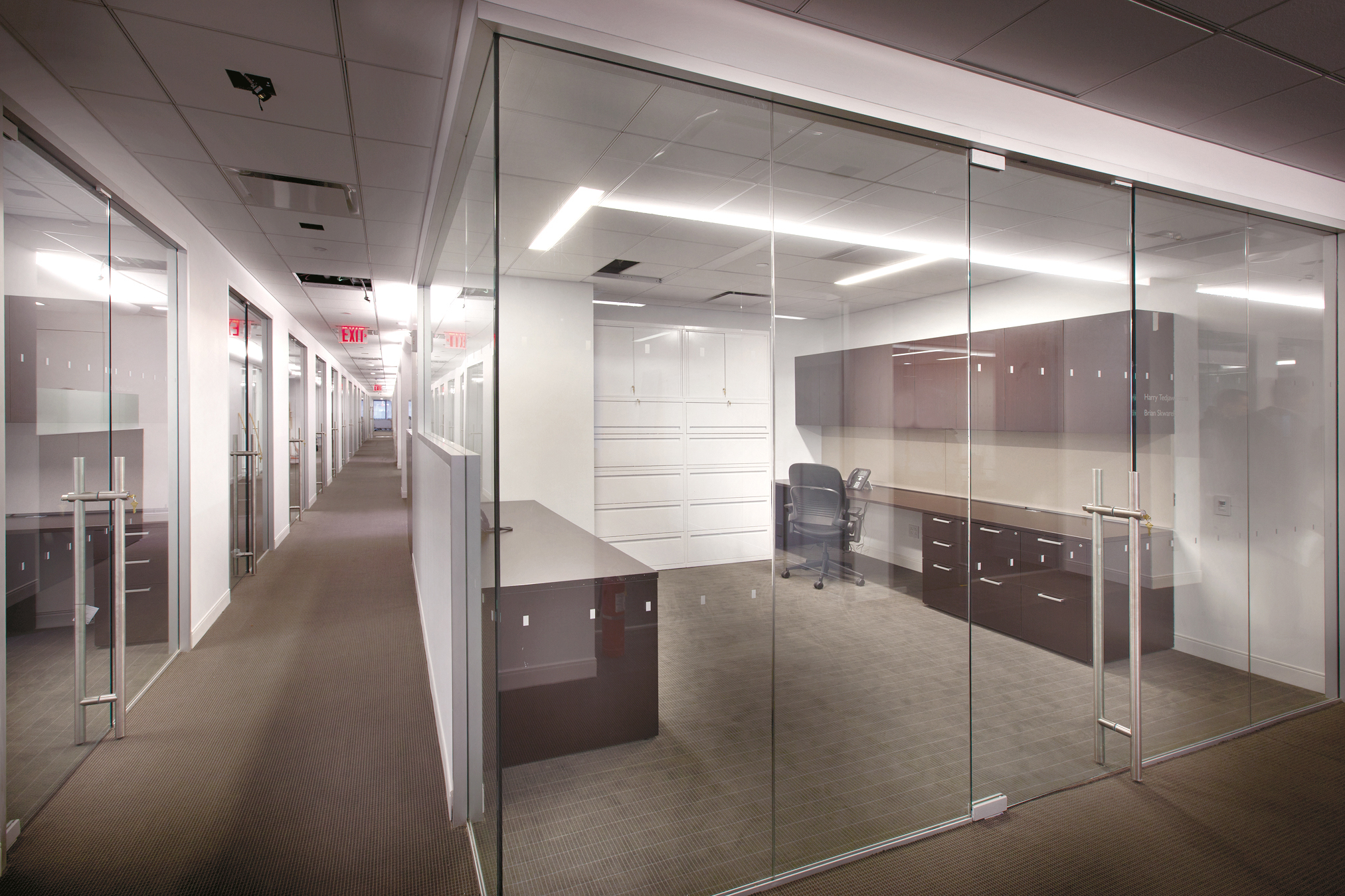 Maryland Glass And Mirror Company Demountable Wall Systems